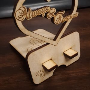 Always & Forever Heart Phone Stand