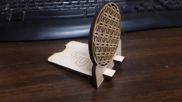 FLower of Life Phone Stand