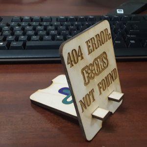 404 Error Phone Stand