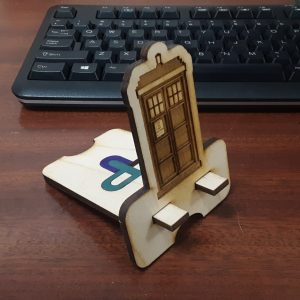 Police Call Box Phone Stand