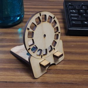 Viewmaster Reel Phone Stand