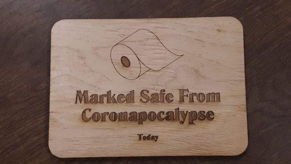 TP Plaque - Marked Safe