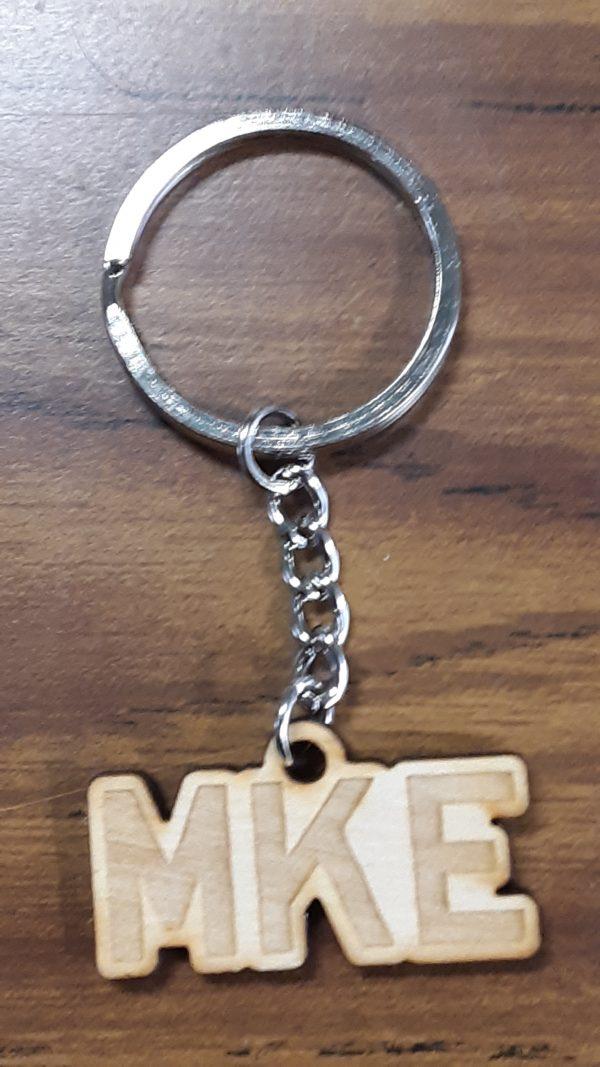 MKE Horizontal Keychain