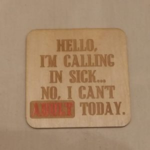 Can't Adult Coaster