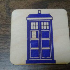 Police Call Box Coaster