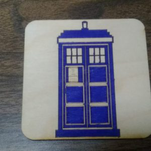Police Call Box Coaster