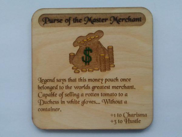 Purse of the Master Merchant Coaster
