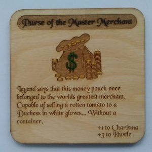 Purse of the Master Merchant Coaster