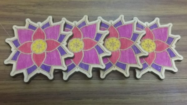 Lotus Coasters