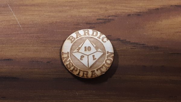 Bardic Inspiration Coin: D10