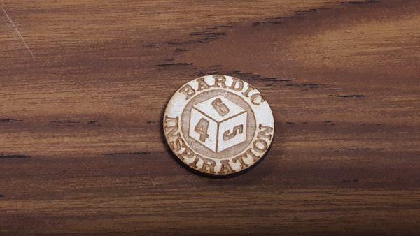 Bardic Inspiration Coin: D6