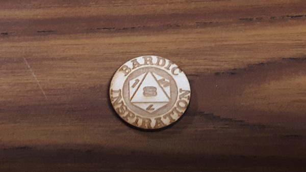 Bardic Inspiration Coin: D8