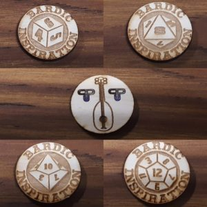 Bardic Inspiration Tokens
