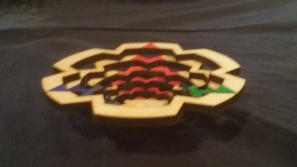 5 inch Dice Tray: Triforce