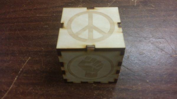 Peace and Pride Domino Set