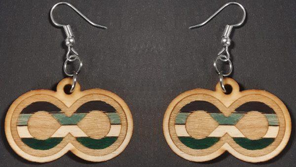 Infinite Pride Earrings: Androphile