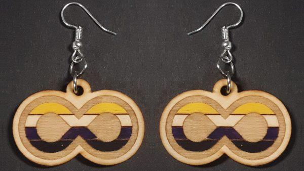 Infinite Pride Earrings: NonBinary