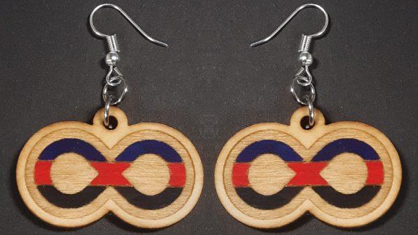 Infinite Pride Earrings: Polyamorous
