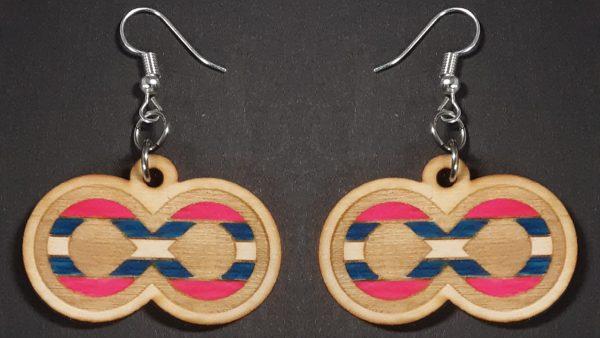 Infinite Pride Earrings: Trans