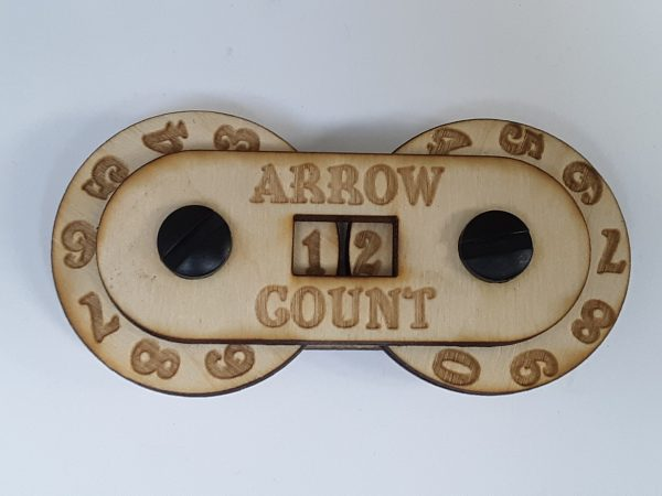Game Counter: Arrow (small 2-digit)