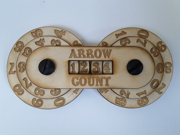 Game Counter: Arrow (4-digit)