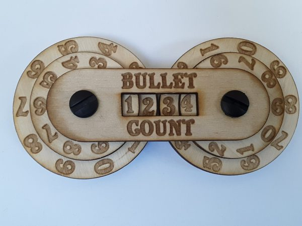 Game Counter: Bullet (4-digit)