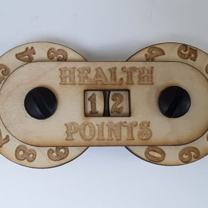 Game Counter: Health (small 2-digit)