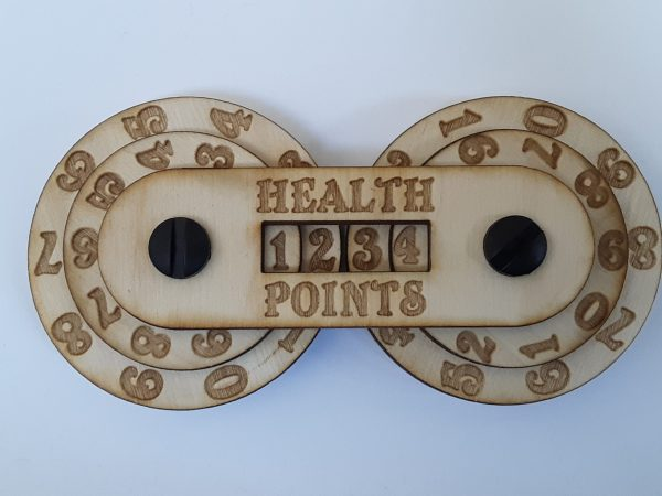 Game Counter: Health (4-digit)