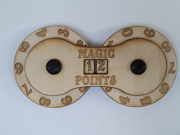 Game Counter: Magic (large 2-digit)