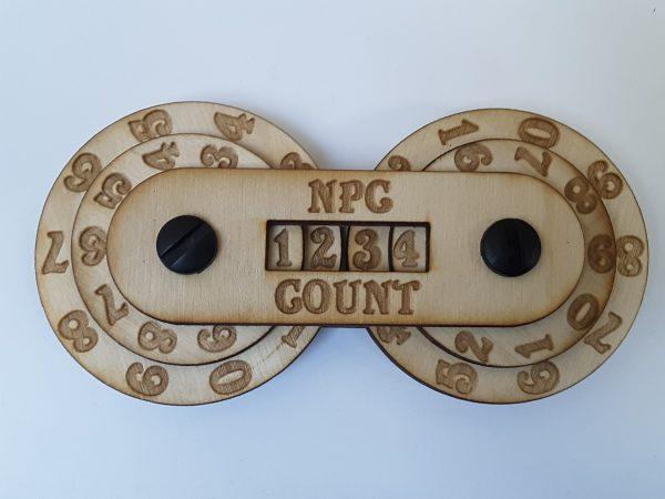 Game Counter: NPC (4-digit)