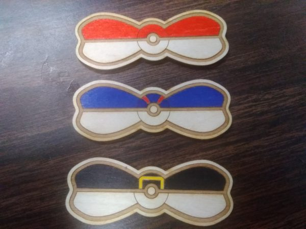 PokeBow Hair Clips