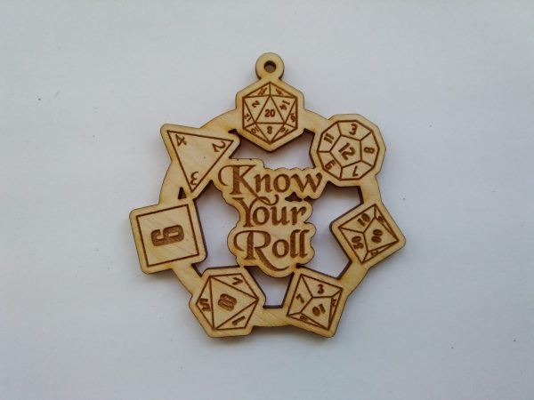 Know Your Roll pendant