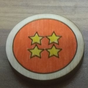 Four Star Ball Pin