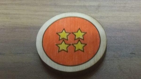 Four Star Ball Pin