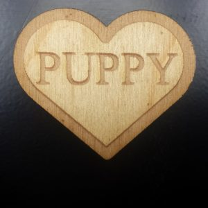 Puppy (Heart shaped) Pin