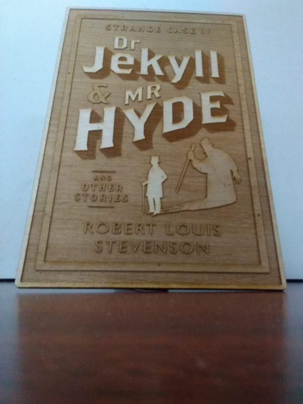 Dr Jekyll and Mr Hyde Plaque
