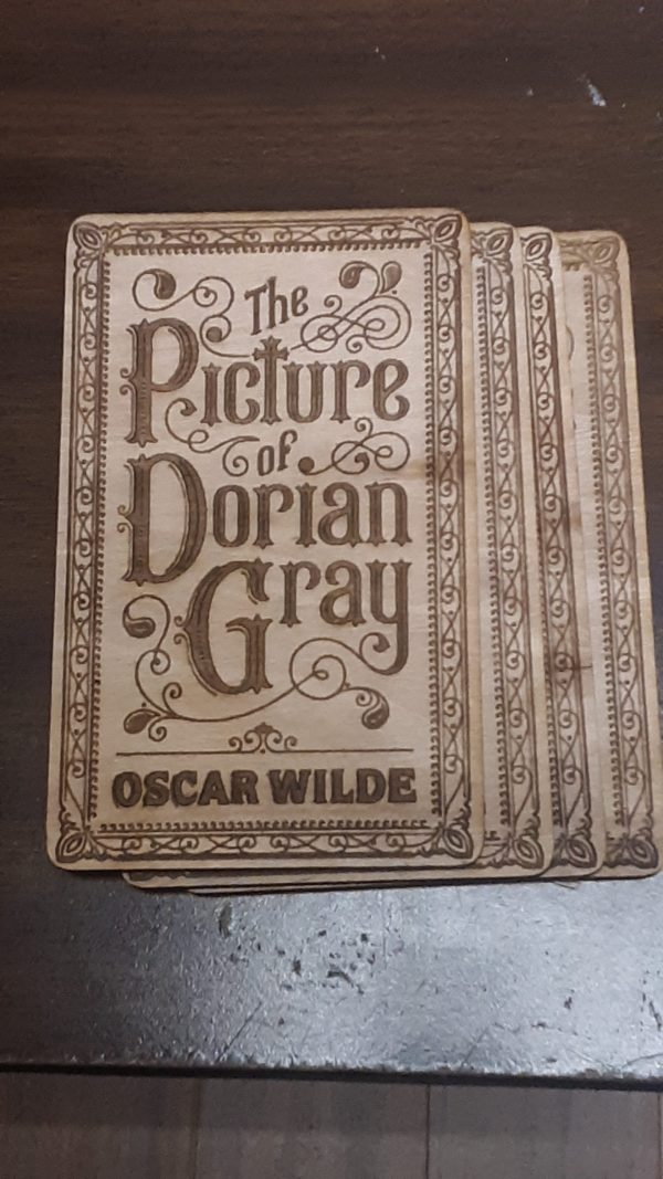 The Picture of Dorian Gray (Book Cover) Plaque