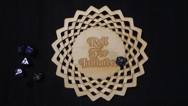 8 inch Dice Tray: Roll For Initiative (Explosion Form)