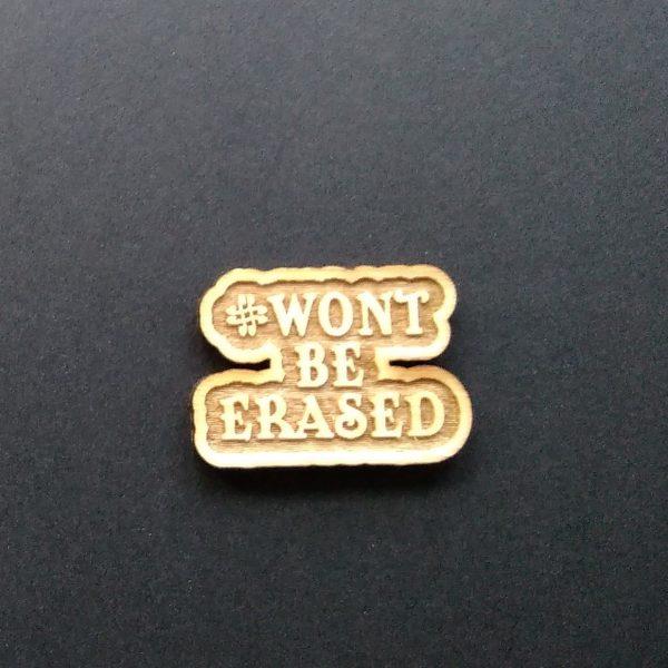 Won't be erased pin