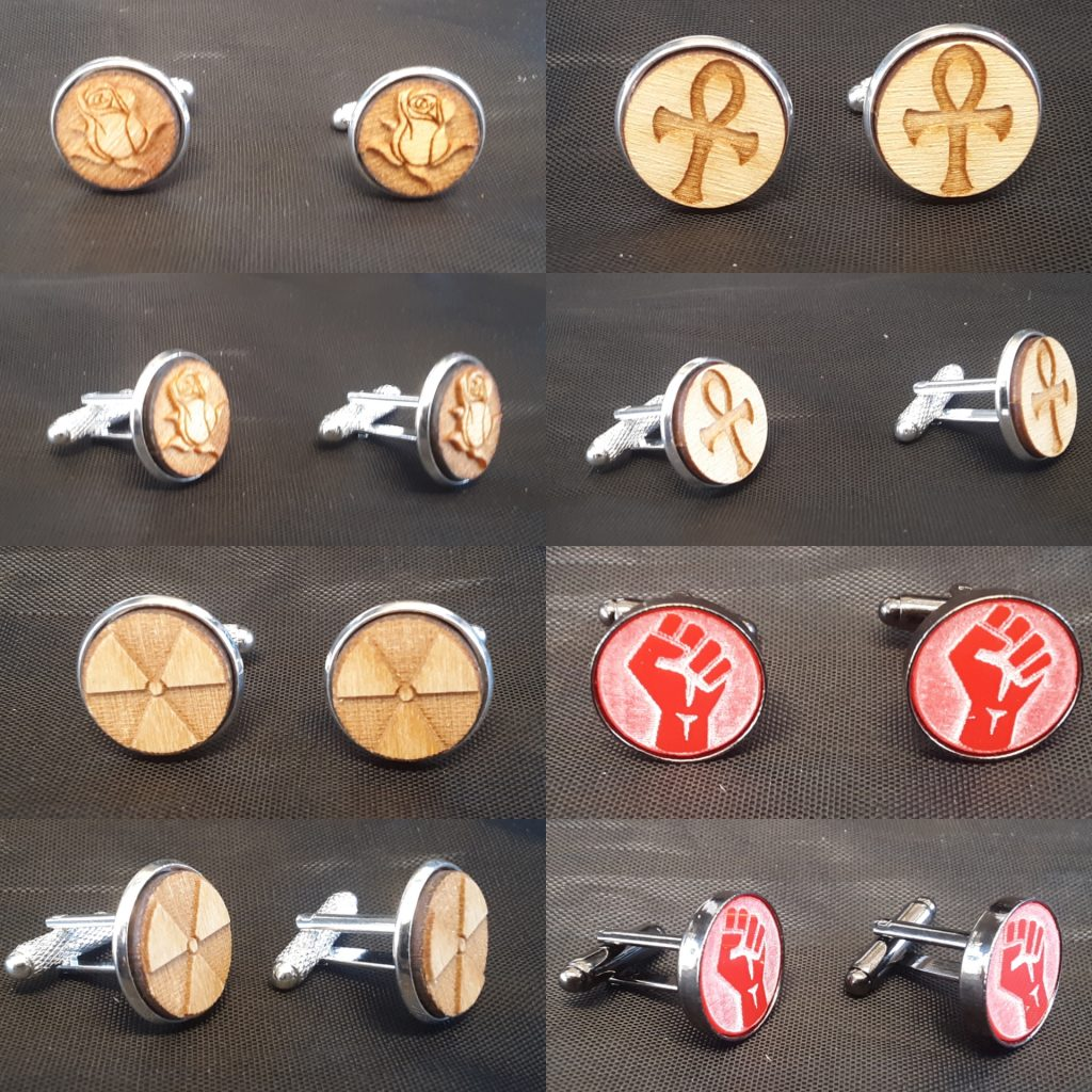 Cufflinks Collage