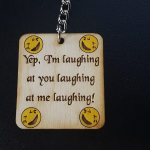 Laughing at you laughing at me Charm