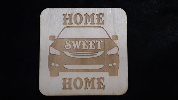 """Nomad Life """"Home Sweet Home"""" Coaster - Car"""