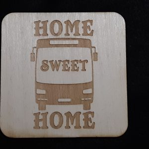 "Nomad Life ""Home Sweet Home"" Coaster - Transit Bus/Coach Bus"
