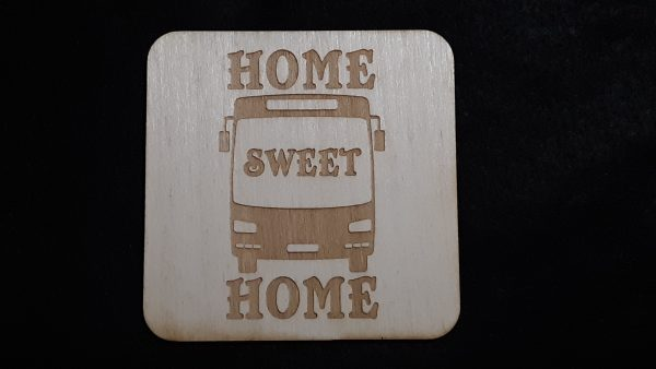 """Nomad Life """"Home Sweet Home"""" Coaster - Transit Bus/Coach Bus"""