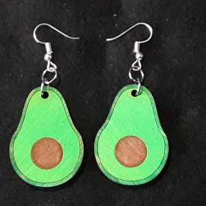 Avocado Slice Earrings