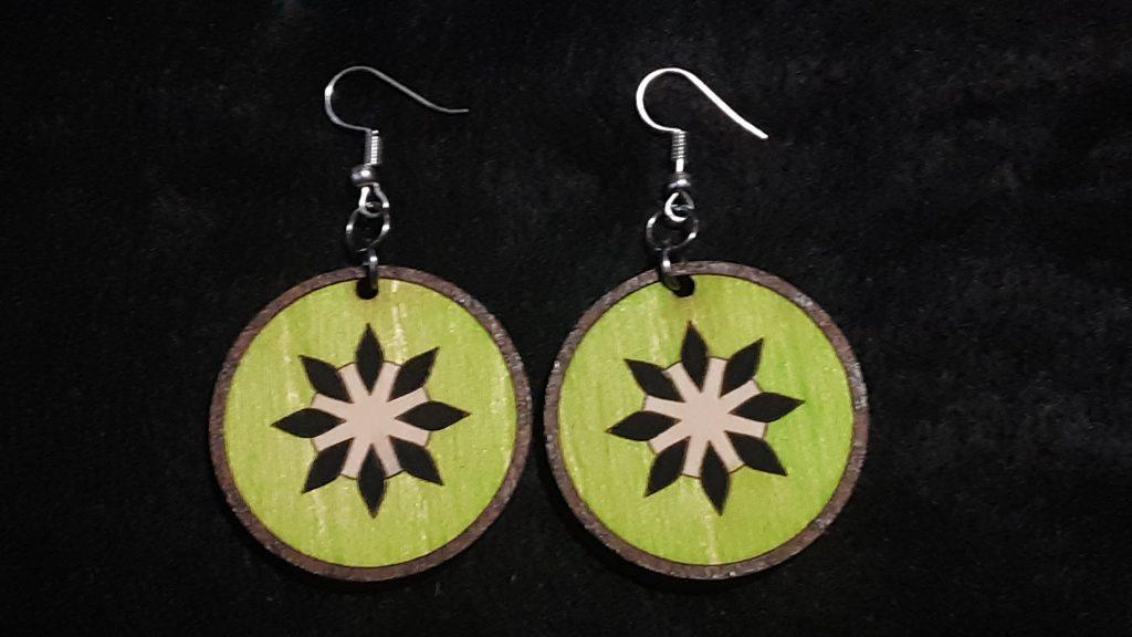 Kiwi Slice Earrings