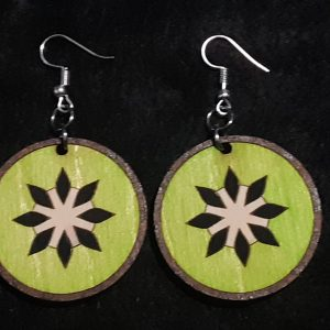 Kiwi Slice Earrings