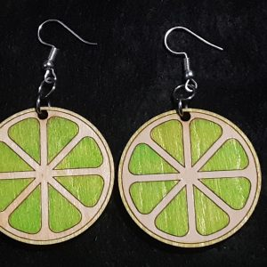 Lime Slice Earrings
