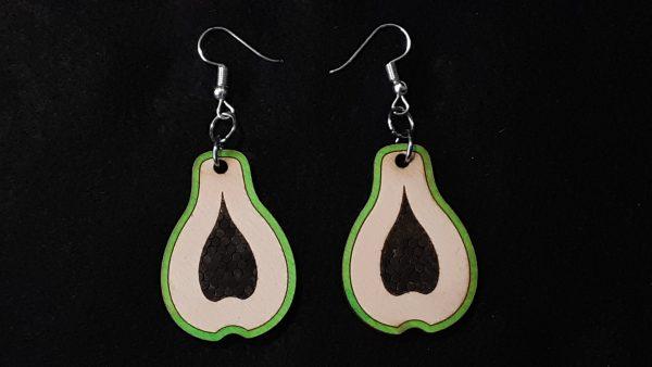 Papaya Slice Earrings