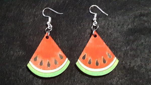 Watermelon Slice Earrings